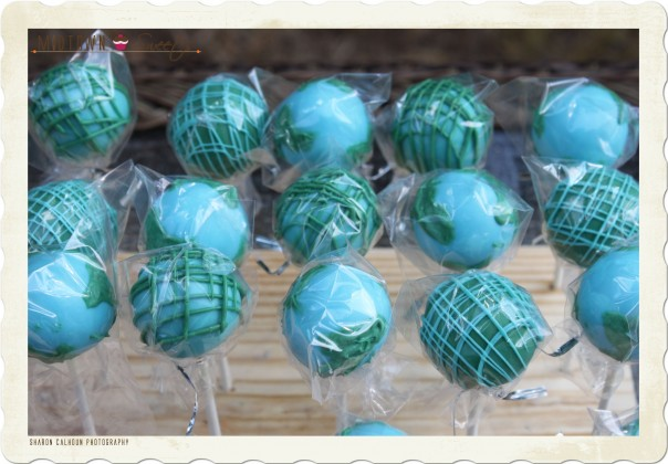 Earth Cake Pops Revisited