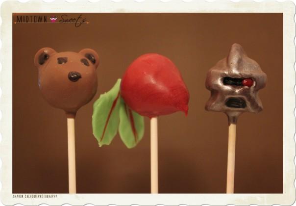 Bears Beets Battlestar Galactica Cake Pops