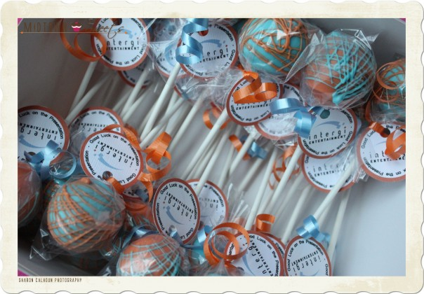 Corporate Cake Pops: Intergi