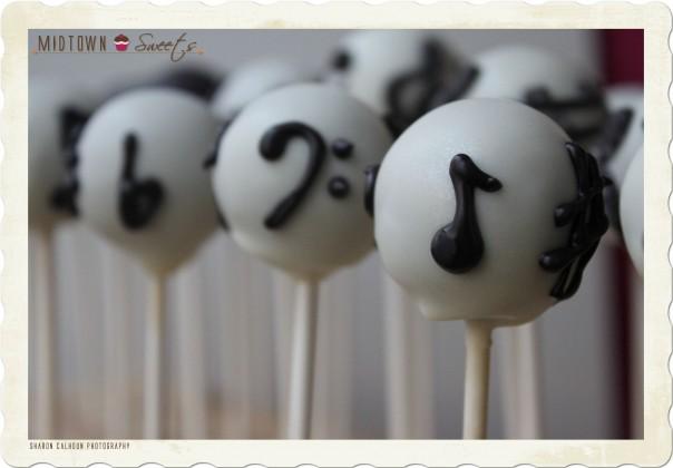 Music Cake Pops