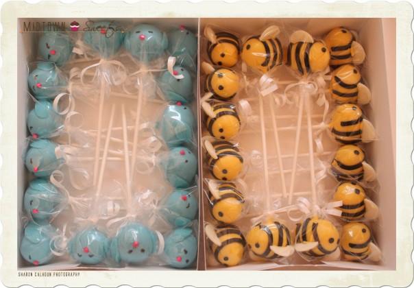 Birds & Bees Cake Pops