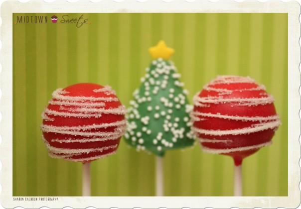Christmas Themed Cake Pops