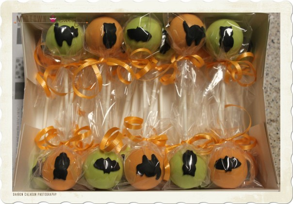 Surprise Halloween Cake Pops for Jamie M.