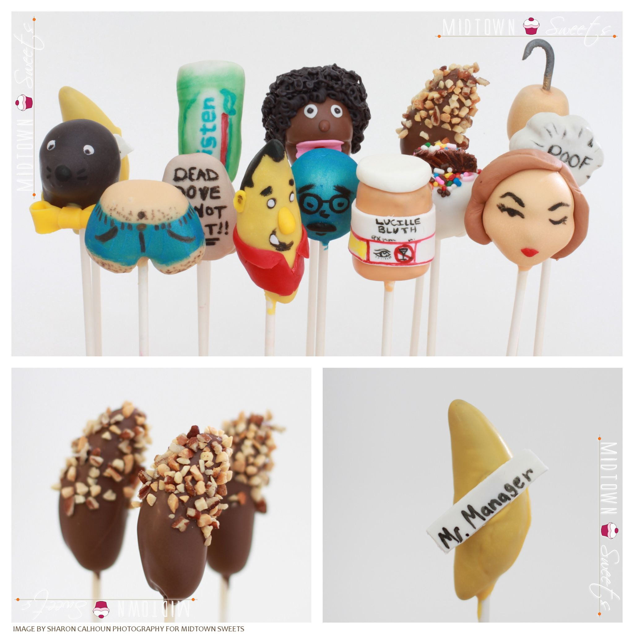Arrested Development Cake Pops