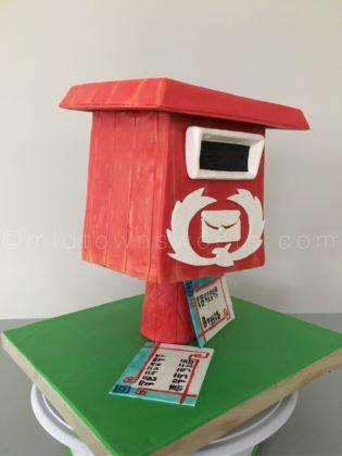 Wind Walker Mailbox Cake